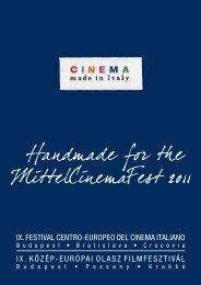 IX. FESTIVAL CENTRO-EUROPEO DEL CINEMA ... - Girodivite