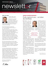 Newsletter Mai 2013 - Vogt-Schild Druck AG