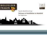 Wohnen & Wohlfühlen in Bielefeld