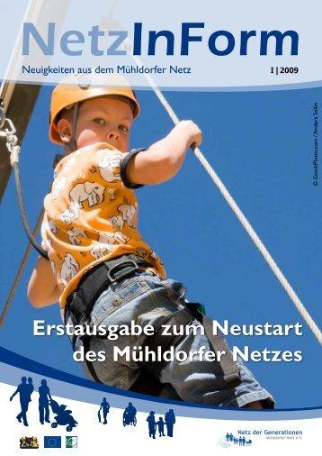 Erstausgabe zum Neustart des Mühldorfer Netzes