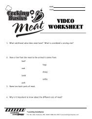 VIDEO WORKSHEET - Learning Zone Express
