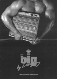 Amek Big - Analog Recording Console Forum