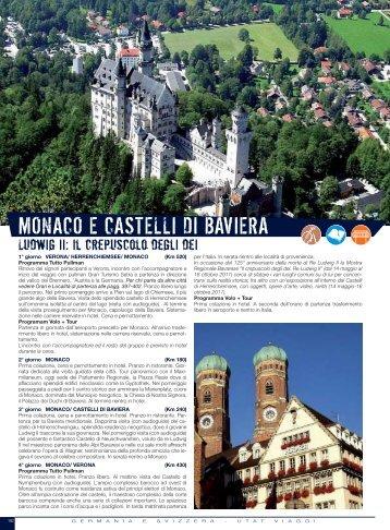 MONACO E CASTELLI DI BAVIERA - Utat Viaggi