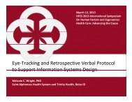 Eye-Tracking and Retrospective Verbal Protocol to Support ...