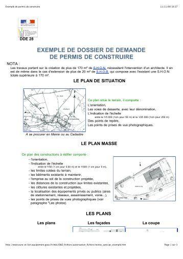 Exemple d 39 attestation for Demande de permis de construire modificatif