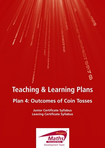 Plan 4: Outcomes Of Coin Tosses - Project Maths