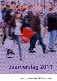 Jaarverslag 2011 - College bescherming persoonsgegevens