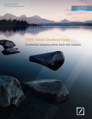Brochure - DWS Investments