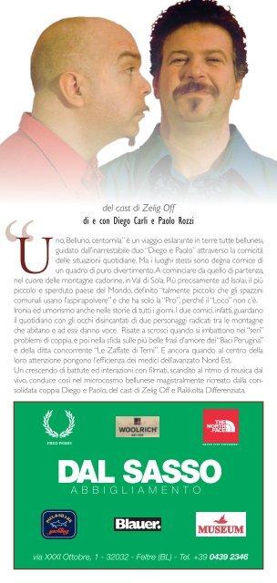 UNO, BELLUNO, CENTOMILA - Circolo Cultura e Stampa Bellunese