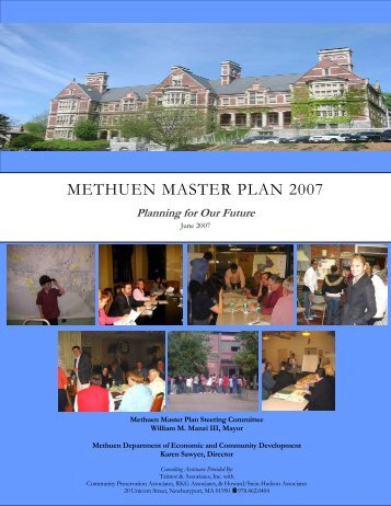 City of Methuen Master Plan