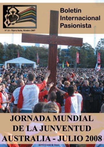 carta de presentación del esquema guía que servirá ... - Passio Christi