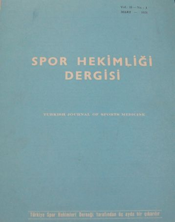 PDF - Spor Bilim