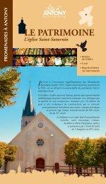 L'église Saint-Saturnin - Ville d'Antony