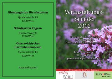 Veranstaltungs- kalender 2012