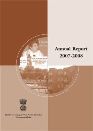 2007-2008 Annual Report - Ministry of Housing & Urban Poverty ...