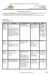 Spielplan Die Glocke Februar 2011 - IOCO
