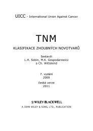 TNM Klasifikace zhoubných novotvarů, 7. vydání