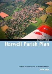 Harwell Parish Plan - Harwell Parish Council
