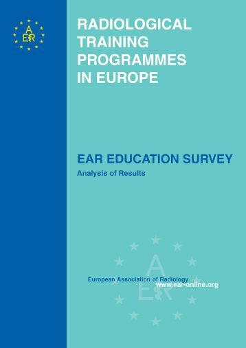 RADIOLOGICAL TRAINING PROGRAMMES IN EUROPE