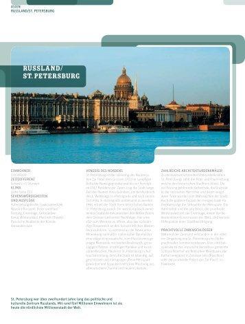 RUSSLAND/ ST. PETERSBURG - Boa Lingua