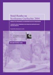 Staid Reatha na Scoileanna Gaeltachta 2004 - Cogg