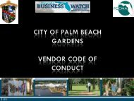 FBW Ethics of Good Business by Ron Ferris - Florida City and ...