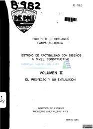 Proyecto de irrigación Pampa Colorada - Autoridad Nacional del Agua