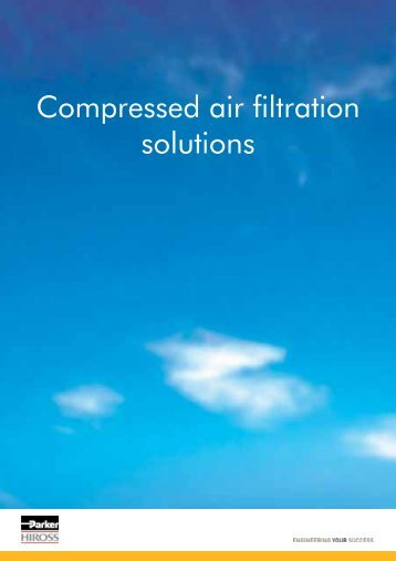 Compressed air filtration solutions - Air Supply UK
