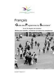 Français - Accueil fédération - SeGEC