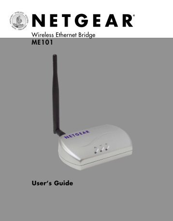 Installing the ME101 - netgear