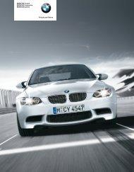 BMW M3 Coupé BMW M3 Limousine BMW M3 Cabrio Freude am ...