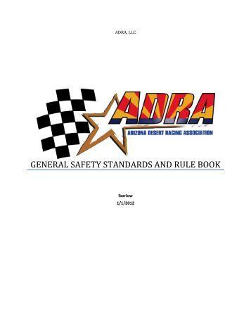 slot racing rules