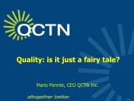 Presentation - Australian Organisation for Quality