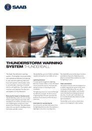 ThunderBall product sheet (pdf) - Saab