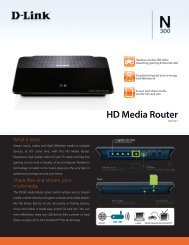 HD Media Router - D-Link