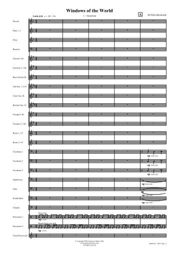 Score Image - Gramercy Music