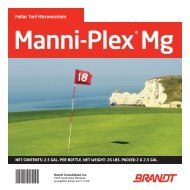 Manni-Plex Mg - Brandt