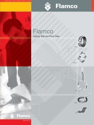 CEILING, WALL AND FLOOR CLIPS - Flamco in the UK