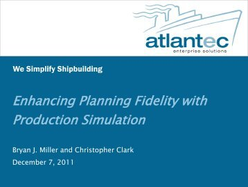 Enhancing Planning Fidelity with Production Simulation - NSRP