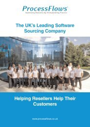 ProcessFlows Software Sourcing