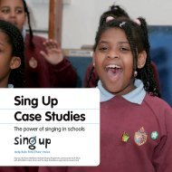 Case Studies Booklet - Sing Up