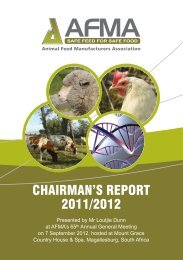 Chairman's Report 2011/12 - AFMA