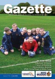 January 2009 - The Boys' Brigade