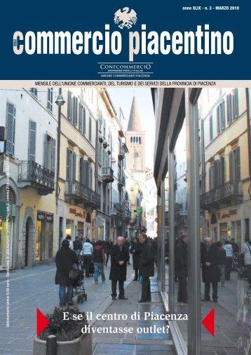 E se il centro di Piacenza diventasse outlet? - Unione Commercianti ...