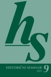 HS 9 - Historični seminar ZRC SAZU