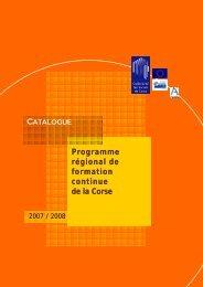 Dispositif insertionnel - FIORE-Corse
