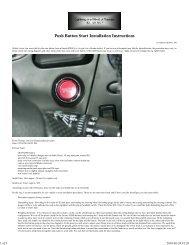 S2000 Start Button Install - Dali Racing