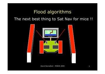 Flood algorithms - Micromouse Online
