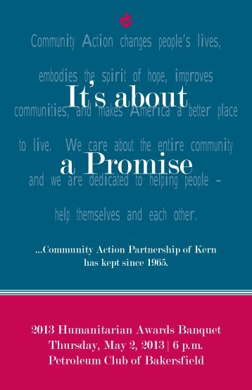Community Action changes people's lives, embodies the spirit of ...