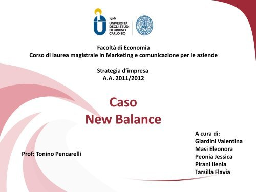 Caso New balance